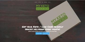 My Keto Snack Box Cashback