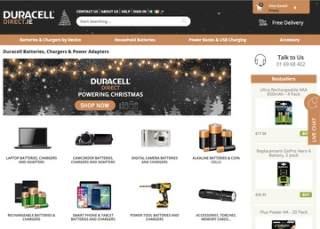 Duracell Direct IE Cashback