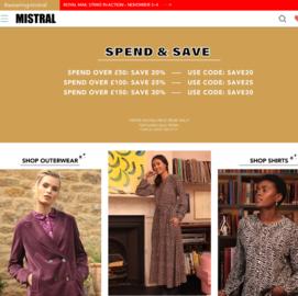 Mistral Online Cashback