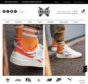 Sneaker Baas 黑五大促,精選adidas、Nike、VEJA等運動鞋全部打折