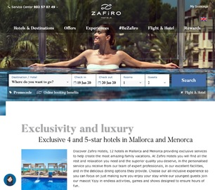 Zafiro Hotels UK 現金回饋