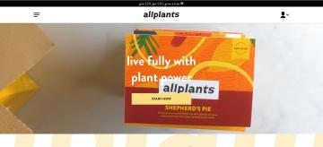 allplants Cashback