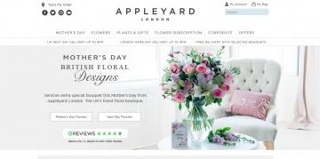 Appleyard Flowers Cashback