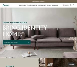 Bemz清仓区各式各色沙发罩大促热卖