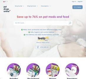 Pet Drugs Online 現金回饋