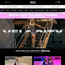 EGO Shoes Cashback