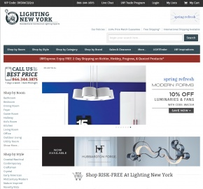 Lighting New York 返利