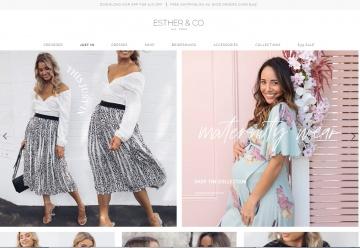 Esther & Co Cashback