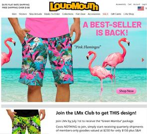 Loudmouth Golf Cashback