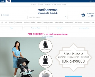MotherCare Indonesia Cashback