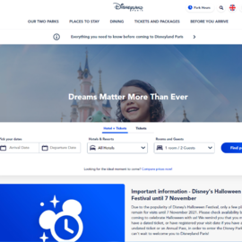 Disneyland Paris Cashback