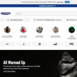 Champs Sports Кэшбэк