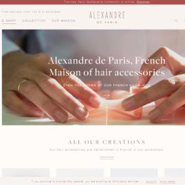 Alexandre de Paris Cashback