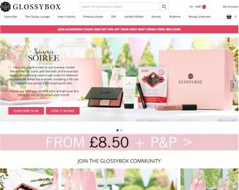 GlossyBox UK 返利