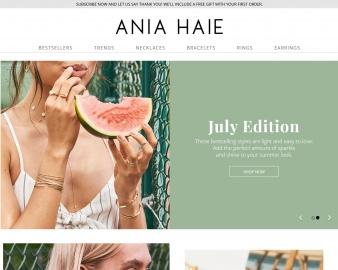 Ania Haie Cashback