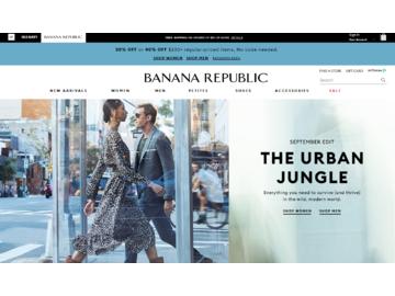 Banana Republic Canada 返利