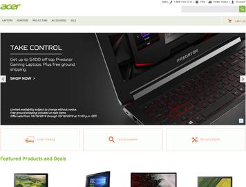 Acer Canada Cashback