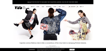Young British Designers Cashback