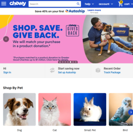 Chewy 返利