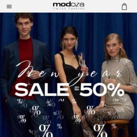 New Year Sale до 50% @ Modoza UA