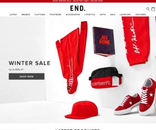 End Clothing英國官網 年終大促 精選adidas、Nike、Off-White等時尚運動潮牌熱賣
