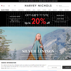 Harvey Nichols US 現金回饋