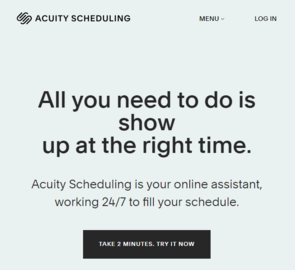 Acuity Scheduling Cashback