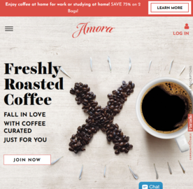 Amora Coffee Cashback