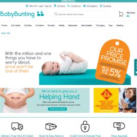 Baby Bunting 現金回饋