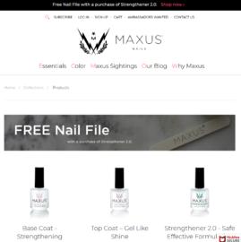 Maxus Nails Cashback