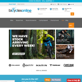 Bicycles Online Cashback