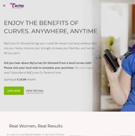 MyCurves On Demand Cashback