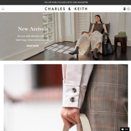 Charles & Keith CA Cashback