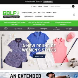 Golf Apparel Shop Cashback
