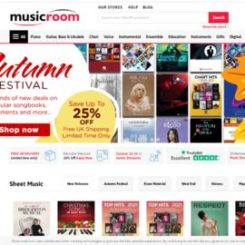 Musicroom Cashback