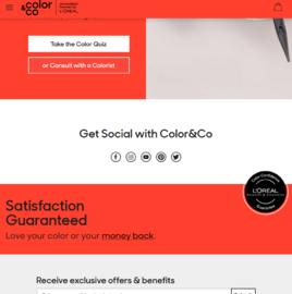 Color & Co Cashback