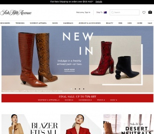 Saks Fifth Avenue AU/APAC Cashback