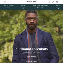 T.M.Lewin UK Cashback