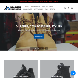 Maven Safety Shoes Cashback