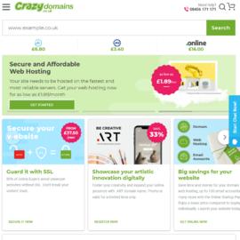 Crazy Domains UK Cashback