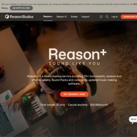 Reason Studios Cashback