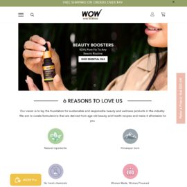 WOW Skin Science Cashback