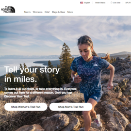 The North Face Cashback