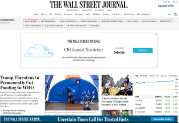 The Wall Street Journal | 华尔街日报 返利