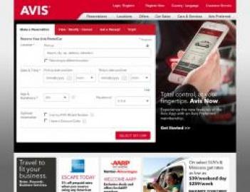 Avis | 安飛士汽車租賃公司 現金回饋