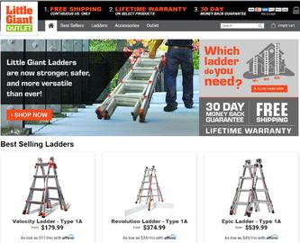Little Giant Ladder キャッシュバック