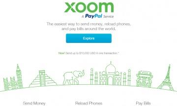 Xoom Cashback