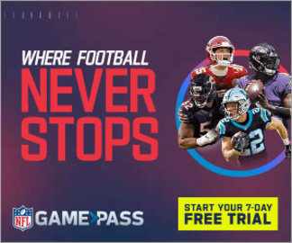 NFL Game Pass 返利