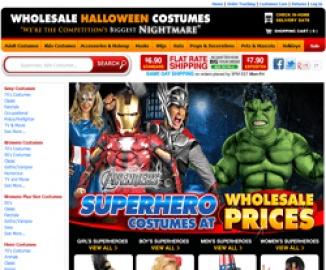 Wholesale Halloween Costumes 現金回饋