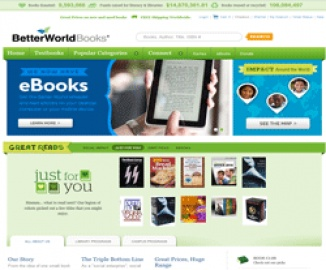Better World Books Cashback